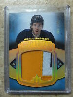 13-14 UD Ultimate Debut Threads RC Rookie Patch #UDT-GR MIKHAIL GRIGORENKO /100