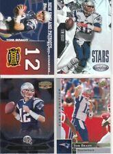 Tom Brady 4 Card NFL Lot *Great Value*