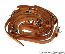 Luggage Rack Leather Strap Set, Tan, All Porsche 356's (50-65)