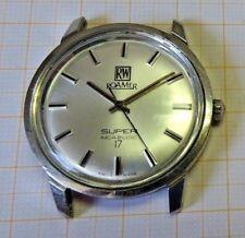Ältere,defekte Armbanduhr,Roamer,Handaufzug,Stahlgehäuse,Pressboden,gute Erhalt.