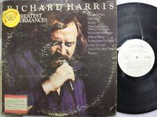 Rock Promo Lp Richard Harris His Greatest Performances On Dunhill