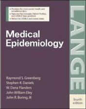 Lange Basic Science: Medical Epidemiology by Stephen R. Daniels, Raymond S.