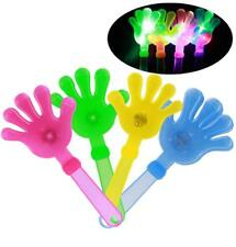 12 Light Up Flashing Clapping Clapper Hands noise maker party lightup novelties