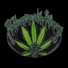 KOTTONMOUTH KINGS - BELT BUCKLE - BRAND NEW - HEAVY DUTY MUSIC WEED BBKMK001