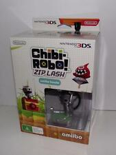 Chibi Robo Zip Lash Amiibo Bundle Nintendo 3DS 2DS Game Preloved *Brand New*