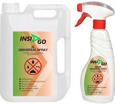 INSIGO 2L+500ml Insektenspray Anti Insekten Mittel schutz vor Insekten Larven