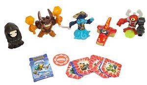 6 Lot - Skylanders Random Figures - Mcdonalds Happy Meal & General Mills Toys