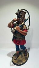 Roman trumpeter; miniature Adama tin alloy toy historical roman soldier