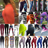 Women's Yoga Pants Compression Athletic Leggings Running Gym Sports Trousers