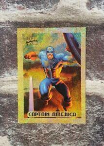 1994 Marvel Masterpiece Holofoil Gold - Captain America 1/10