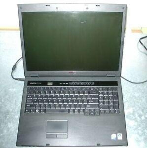 Dell Vostro 1710 Intel Core 2 Duo 1.80GHz 1GB Ram No HDD/Batt