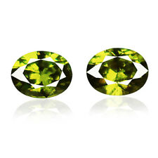 0.77ct 100% Natural earth mined extremely rare green color demantoid garnet
