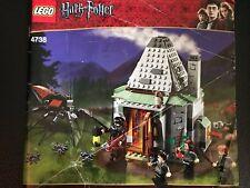 LEGO HARRY POTTER # 4738 HAGRID'S HUT INSTRUCTION MANUAL