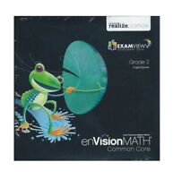 enVision Math Grade 2 common core Teacher's ExamView test quiz creator CD-ROM