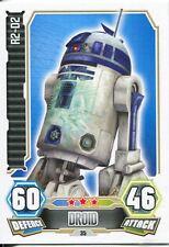 Star Wars Force Attax Series 3 Card #35 R2-D2