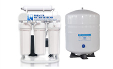 200 GPD Light Commercial Reverse Osmosis Water Filter System | 6 gal tank + Pump