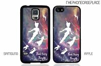 Disney Peter Pan Think Happy Thoughts Apple iPhone or Samsung Phone Case Cover