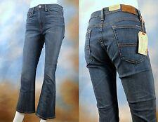 NEW $125 RALPH LAUREN DENIM & SUPPLY stretch boho crop flare capri jeans SZ: 28