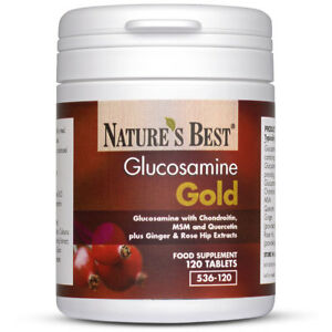 Glucosamine Gold - High Strength – 120 Tablets - High Potency All-in-one Formula