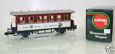 """Märklin pista 1 museo auto nº 3 buffetwagen """"Märklin museo"""" en embalaje original (ef97)"""