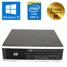 PC MINI COMPUTER DESKTOP RICONDIZIONATO HP QUAD CORE i5 RAM 8GB 250GB WINDOWS 10