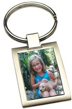 Schlüsselanhänger mit Fotodruck und Wunschtext