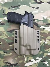 FDE Kydex Holster SIG P226R Threaded Barrel Surefire X300 Ultra A model