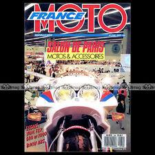 FRANCE MOTO N°230 HUSQVARNA 510 TE LC ATM 125 YAMAHA FZR 600 1000 JEANDAT 1988