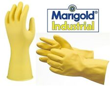 Marigold Industrial Suregrip G04Y Heavyweight Yellow Rubber Gloves