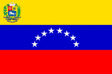 Venezuela 3ft x 2ft Flag Venezuelan State National Flag with Crest - 2 Eyelets
