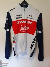 "Original Santini Trek Segafredo thermal Trikot lang arm ""rider issued"" (M)"