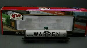 Atlas HO Scale Warren Petroleum #2295 11,000 Gallon Tank Car #1032-2