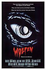 WOLFEN (1981) ORIGINAL MOVIE POSTER  -  ROLLED
