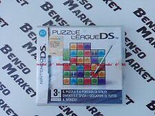 PUZZLE LEAGUE DS - NINTENDO DS DSi 2DS 3DS - PAL ITA ITALIANO - NUOVO SIGILLATO