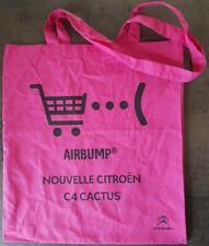 SAC TOTE BAG PUBLICITAIRE NOUVELLE CITROËN C4 CACTUS Airbump 38x42 cm  NEUF
