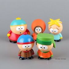 5pcs / set South Park Kyle Butters Stan Cartman Kenny Figures Toy Doll Kids Gift