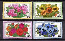 Germany - 1976 Welfare: Flowers Mi. 904-07 MNH