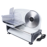 "Full Automatic Electric Meat Slicer Machine Deli Slice Veggie Cutter 7.5"" Blade"