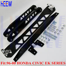 BILLET LOWER REAR CONTROL ARM SUBFRAME BRACE TIE BAR HONDA CIVIC EK 96-00 BWR J
