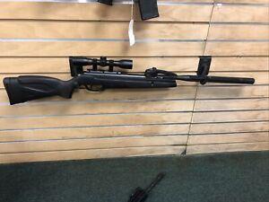 Gamo Swarm Whisper .22 Caliber Multishot Air Rifle w/ Scope