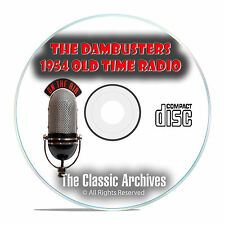 The Dambusters 1954 Classic Old Time Radio OTR Drama, WW2 13 Hours MP3 CD E87