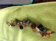 Silpada Sterling Silver Multi-Stone Cha-Cha Bracelet B1648 Retired! $132