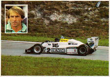 Postal de fórmula 1-Jacques Laffite #2 Williams FW08C