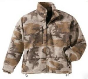 Cabela's Men's Outfitter High Plains Camo Wooltimate Waterproof Hunting Jacket