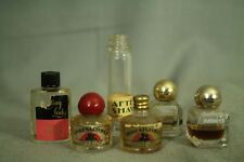lot 7 little miniature perfume bottles Irresistible Emeraude Evening in Paris