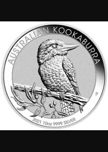 Perth Mint 2021 10oz ounce 9999 silver KOOKABURRA coin Ultra LIMITED release!!!