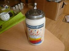 Oktoberfest 1992 Year Rastal Beer Stein Mug Munich Germany 1 liter with Lid