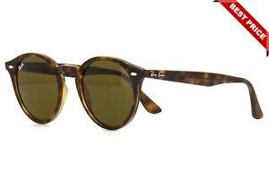 Ray-Ban RB2180 710/73 51mm Tortoise Round Sunglasses