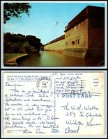 GEORGIA Postcard - Savannah, Moats & Walls Of Fort Pulaski G41