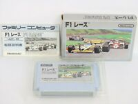 F1 RACE Ref/ccc Famicom Nintendo HVC-FR Japan Game fc
